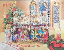 New Zealand  1994 Christmas S/S - New Zealand