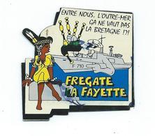 16957 - MAGNET MARINE NATIONALE  -  FREGATE LAFAYETTE - Transports