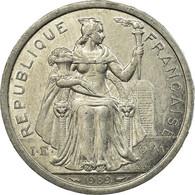 Monnaie, Nouvelle-Calédonie, 2 Francs, 1989, Paris, TTB, Aluminium, KM:14 - Nuova Caledonia