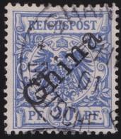 Deutsches  Reich   China   .   Michel    .   4  I     .       O       Gebraucht - Bureau: Chine