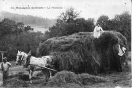 CPA - Montagnes Du Doubs. La Fenaison. Edition Simon, N° 304. Non Circulée. TB état. - Pontarlier