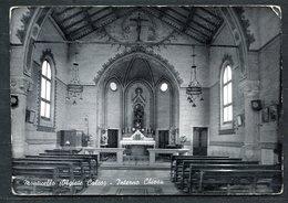 CARTOLINA - CV2708 MONTICELLO (Lecco LC) Olgiate Calco, Interno Chiesa, FG, Viaggiata 1960 Per Roma, Angoli Arrotondati, - Lecco