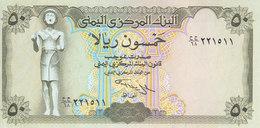 YEMEN 50 RIAL 1993 P-27A Sig/#9 ALUWI UNC */* - Yemen