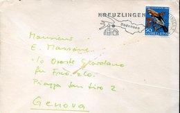 44706 Switzerland, Circuled Cover  1969  Stamp  50+20 Pro Juventute 1969 - Pro Juventute
