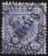 Deutsches  Reich   China   .   Michel    .  4 II    .       O       Gebraucht - Bureau: Chine