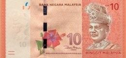 Malaysia 10 Ringgit, P-53 (2012) - UNC - Malaysia