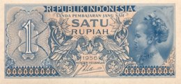 Indonesia 1 Rupiah, P-74 (1956) - UNC - Indonesien