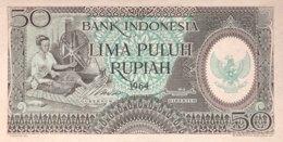 Indonesia 50 Rupiah, P-96 (1964) - UNC - Indonesia