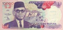 Indonesia 10.000 Rupiah, P-131e (1992/96) - UNC - Indonesien