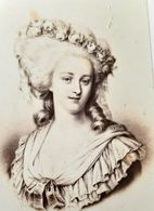 CDV MARIE ANTOINETTE REINE DE FRANCE QUEEN REVOLUTION LOUIS DE BOURBON CHARLES JACOTIN - Antiche (ante 1900)