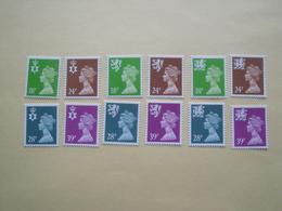 1991  Grande Bretagne Yv 1579/90  ** MNH Série Courante Cote 24.00 €  Michel Nir 59/2 Sch 61/4  Wal 60/3  Definitives - 1952-.... (Elizabeth II)