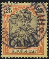 Deutsches  Reich   China   .   Michel    .  19     .       O       Gebraucht - Bureau: Chine