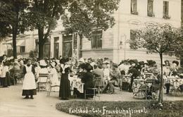 KARLSBAD / Karlovy Vary - Cafe Freundschaftssaal - Sudeten