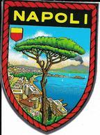 Autocollant, Sticker, Blason Napoli, Italie, Vésuve - Autocollants