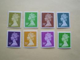 1991  Grande Bretagne Yv 1561/7 - 1562a  ** MNH Série Courante Cote 15.50 €  Michel 1355/61  Definitives - 1952-.... (Elizabeth II)