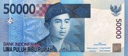 Indonesia 50.000 Rupiah, P-145a (2005) - UNC - Indonesien