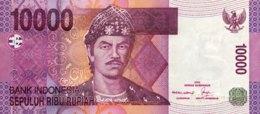 Indonesia 10.000 Rupiah, P-143b (2005/06) - UNC - Indonesien