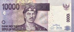Indonesia 10.000 Rupiah, P-150f (2014) - UNC - Indonesia