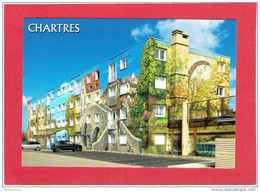 CHARTRES FRESQUE BEL AIR CARTE EN TRES BON ETAT - Chartres