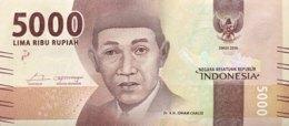 Indonesia 5.000 Rupiah, P-156a (2016) - UNC - Indonesia