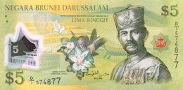 Brunei 5 Ringgit, P-36 (2011) - UNC - Brunei