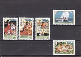 San Vicente Y Granadines Nº 739A Al 739E - St.Vincent & Grenadines