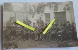 1914 St Malo 47 Eme Régiment D'infanterie La Soupe Le Rata Tranchée Poilus 1914 1918 WW1 Cph - War, Military