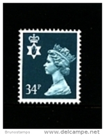 GREAT BRITAIN - 1989  NORTHERN IRELAND  34 P.  MINT NH   SG  NI66 - Irlanda Del Nord