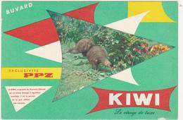 Buvard KIWI - Le Cirage De Luxe - Buvards, Protège-cahiers Illustrés