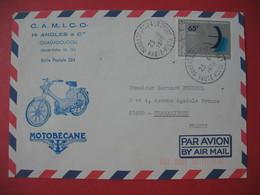 Enveloppe  Motobécane  1978 Camico H. Angles & Cie  Ouagadougou Haute Volta Pour La France - Motos
