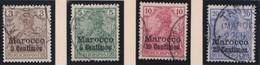 Deutsches  Reich   Marokko    .   Michel    .     7/10      .       O       Gebraucht - Bureau: Maroc