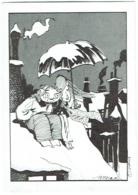 Carte De Soutien.  Illustrateur : Hislaire. Bidouille Et Violette. - Cartes Postales