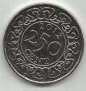 Surinam Suriname 250 Cent 2012.  KM#24 - Surinam 1975 - ...