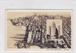 LAKE SHORE DRIVE. CHICAGO. CIRCULEE 1939 A BUENOS AIRES - BLEUP - Chicago