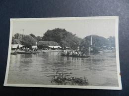 19930) INDONESIA GIAVA BATAVIA ORA JAKARTA IMBARCAZIONE PIENA DI PERSONE NON VIAGGIATA 1930 CIRCA - Indonesia