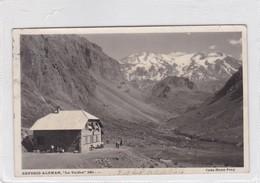 """REFUGIO ALEMAN """"LOS VALDES"""" CASA HANS FREY. VALPARAISO. VOYAGEE 1953 - BLEUP - Chili"""