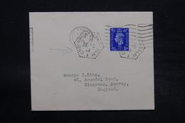 FRANCE - Oblitération Du Croiseur Montcalm Sur Enveloppe De Glasgow En 1939 Pour Kingston - L 28369 - Seepost