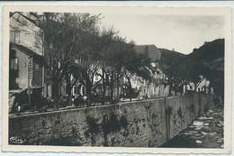Le Pont De Montvert-Les Quais (Légère Pliure Haut Vers La Gauche Descendant Vers Le Centre,voir Scan) (CPSM) - Le Pont De Montvert