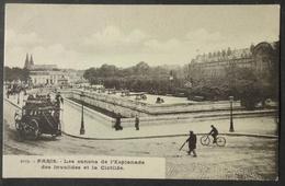 CPA 75 PARIS - Les Canons De L'Esplanade Des Invalides Et La Clotilde - N° 5079 Précurseur - Réf. K 54 - Francia