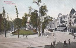 183835Amsterdam, Rembrandtsplein Me Tram. - Amsterdam