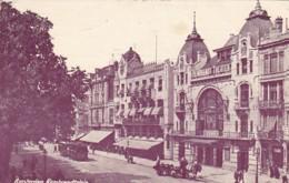 183846Amsterdam, Rembrandtsplein Met Tram (kleine Vouwen In De Hoeken) - Amsterdam