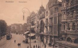 183867Amsterdam, Rembrandtsplein Met Heinekentapkar. (poststempel 1910) - Amsterdam