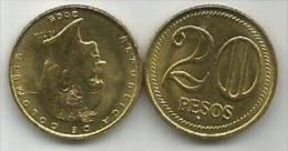 Colombia 20 Pesos 2005. High Grade - Colombia