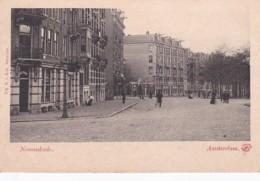 185011Amsterdam, Nassaukade (rond 1900) - Amsterdam