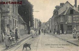 SAINT-ETIENNE-DU-ROUVRAY RUE DE LA REPUBLIQUE 76 - Saint Etienne Du Rouvray
