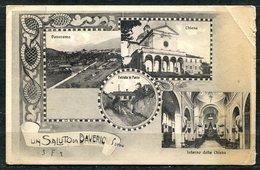 CARTOLINA - CV2655 DAVERIO (Varese VA) Un Saluto Da, Con 4 Vedutine, FP, Non Viaggiata, - Varese