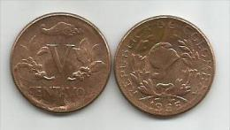 Colombia 5 Centavos 1965. - Colombia