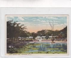 LAKE , QUEEN'S PARK. BARBADOS. BWI. CPA CIRCA 1910s - BLEUP - Barbades