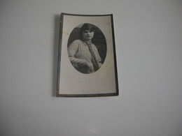 Urbanie-Suzanna Boute (Aalter 1912-Brugge 1931);Hallaert - Devotieprenten
