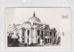 MEXICO DF. BELLAS ARTES. LIPKAU. CPA CIRCA 1950s - BLEUP - Mexique